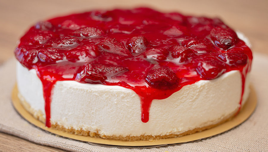 Cheese Cake de Fresa Entero